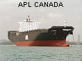 APL CANADA IMO9231236