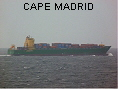 CAPE MADRID IMO9571301