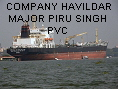 COMPANY HAVILDAR MAJOR PIRU SINGH PVC IMO8224145