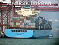 MAERSK DURBAN IMO9287895