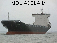 MOL ACCLAIM IMO9379571