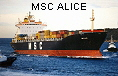 MSC ALICE IMO7359852