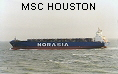 MSC HOUSTON IMO9057496