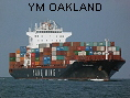 YM OAKLAND IMO9450583