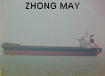 ZHONG MAY IMO9420124
